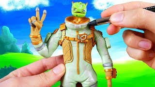 Making Leviathan skin from Fortnite in POLYMER CLAY!