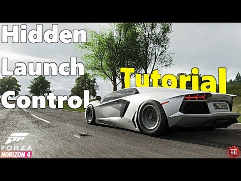 Forza Horizon 4: How to Use Hidden LAUNCH CONTROL! (Perfect Boosted Launch)