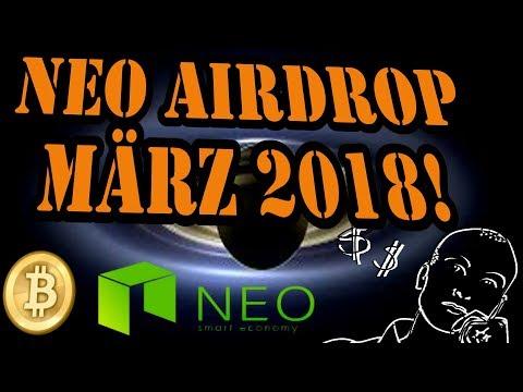 NEO Airdrop kostenlose Tokens - Kryptowährungen deutsch / Bitcoin Deutsch