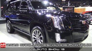 2020 Cadillac Escalade Platinum - Exterior And Interior - LA Auto Show 2019