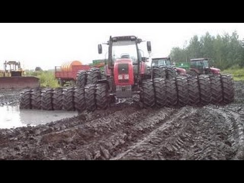 Thumbnail: Tractors Stuck in Mud 2017