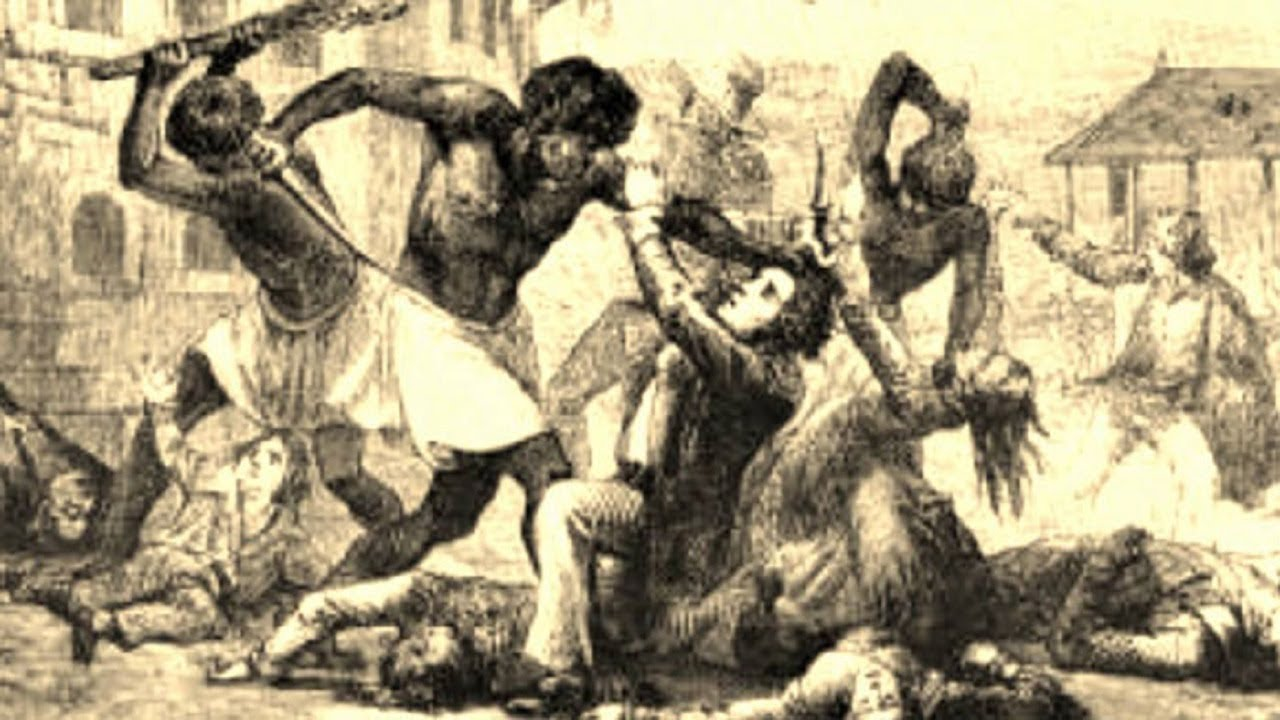 Slave Revolts:Why America Erases Them From Her History