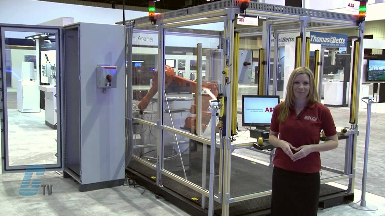 Apw 2013 Abb S Jokab Safety Pluto Plc With Robot Cell