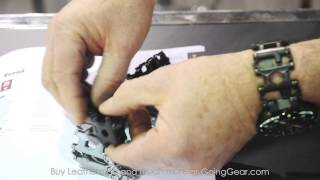 SHOT Show 2015:  Leatherman Tread & More New Gear