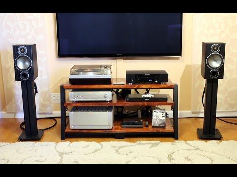 Monitor Audio Bronze 2 Bookshelf Speakers Sound Demo Rock