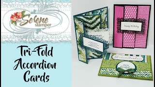 Tri-Fold Accordion Card | Three Ways!