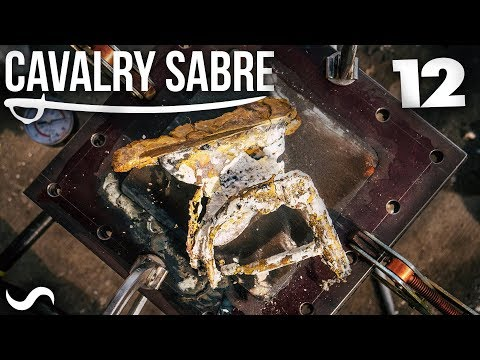 MAKING A CAVALRY SABRE! Part 12