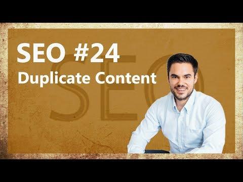 Duplicate Content im WordPress - Check deine Website! / SEO #24 - 동영상