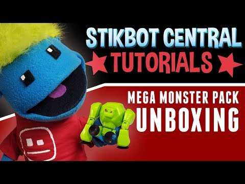 SPOOKY Stikbot Monsters UNBOXING!!! | Stikbot Tutorials