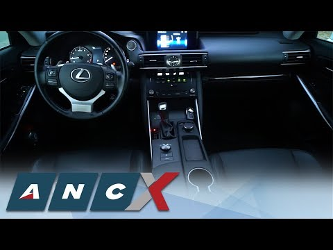 Check out the interior of the Lexus IS350 | ANC - X REV