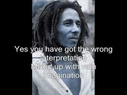 Bob Marley - Stiff Necked Fools (with lyrics)