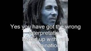 Bob Marley - Stiff Necked Fools (with lyrics)