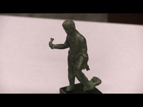 US repatriates ancient artifacts to Italy