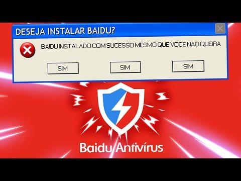 DESTRUINDO O COMPUTADOR COM BAIDU (TESTE DE VÍRUS)