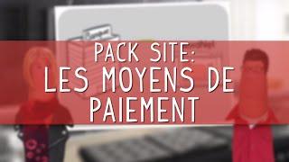 Les moyens de paiement du module boutique [Pack Site-NordNet]
