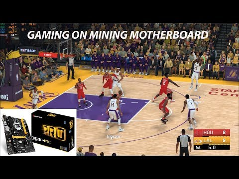 Gaming On Mining Motherboard