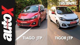 Tata Tiago JTP & Tigor JTP Review | First Drive | autoX