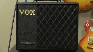 vox vt20x 1x8 combo amp review by sweetwater