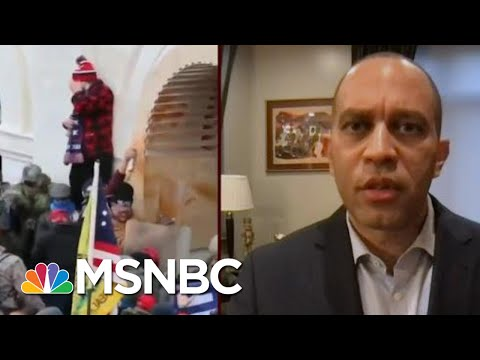 Rep. Jeffries: Capitol Police Force Was Under-Resourced, Under-Prepared   Morning Joe   MSNBC