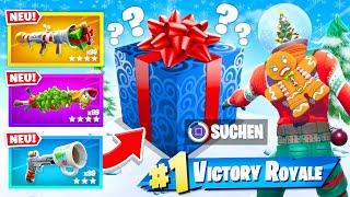 Weihnachts Geschenke Duell in Fortnite Battle Royale