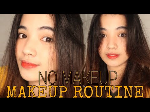 EVERYDAY HAIR AND MAKEUP ROUTINE (BACK TO SCHOOL)