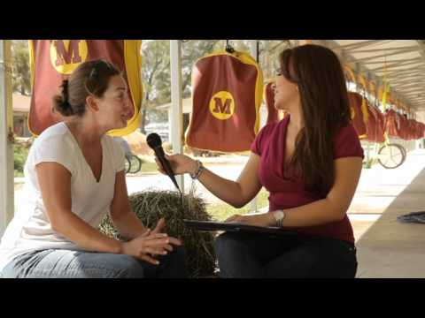 GiGi Diaz interviews trainer/driver Jamie Rucker f...