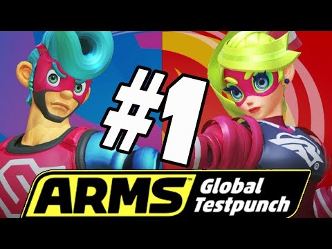 Arms Global Test Punch! 2 Player Versus & Online Party Matches
