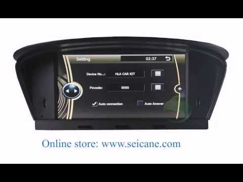 upgrade android 8 8 inch touchscreen for 2003 2010 bmw 5. Black Bedroom Furniture Sets. Home Design Ideas