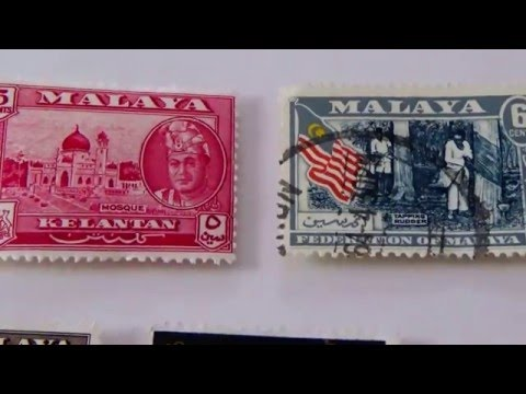 Old Postage Stamps From Malaya/Malaysia