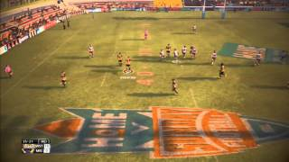 Rugby league live 2 game play WST vs MEL