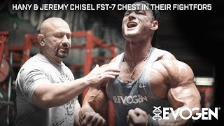 Hany Chisels FST-7 Chest with Jeremy to #FightFor5 at Self Made