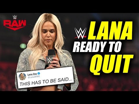 LANA WALKS AWAY? Lana Reaches Her BREAKING POINT As Bobby Lashley Story Line Goes Too Far | WWE RAW