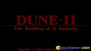 Dune 2 gameplay (PC Game, 1992)
