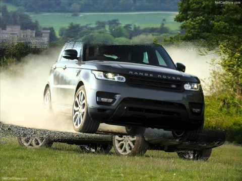 All New 2014 Land Rover Range Rover Sport Grey- Off-road