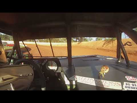 East Lincoln Speedway 8-31-19 Stock 4 Front Cam Hot Laps Alexus Motes