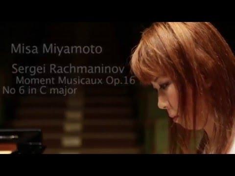 misa miyamoto Sergei Rachmaninov Moments musicaux Op 16 No 6 in C major