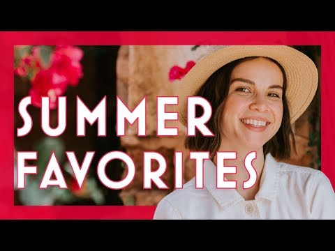My 2019 Summer Favorites: Skincare, Makeup, Books & More | Ingrid Nilsen thumbnail