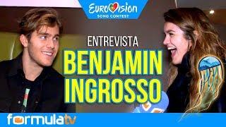Eurovisión 2018: Benjamin Ingrosso conoce a Amaia y Alfred durante nuestra entrevista
