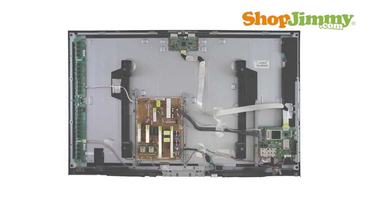 samsung ln52 power supply bn44 00200a boards replacement guide for rh youtube com Samsung LCD TV SRS Samsung LCD TV Remote Control
