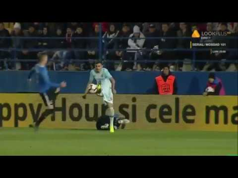 Rezumat:  Viitorul - FCSB 1-1 / etapa 6, play off, Liga 1, ed. 2018-2019