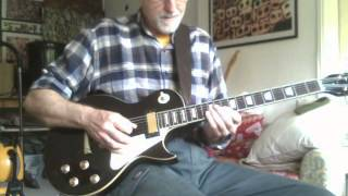 RAWDEALDOG VINTAGE LES PAUL CUSTOM DEMO FIRST DEGREE