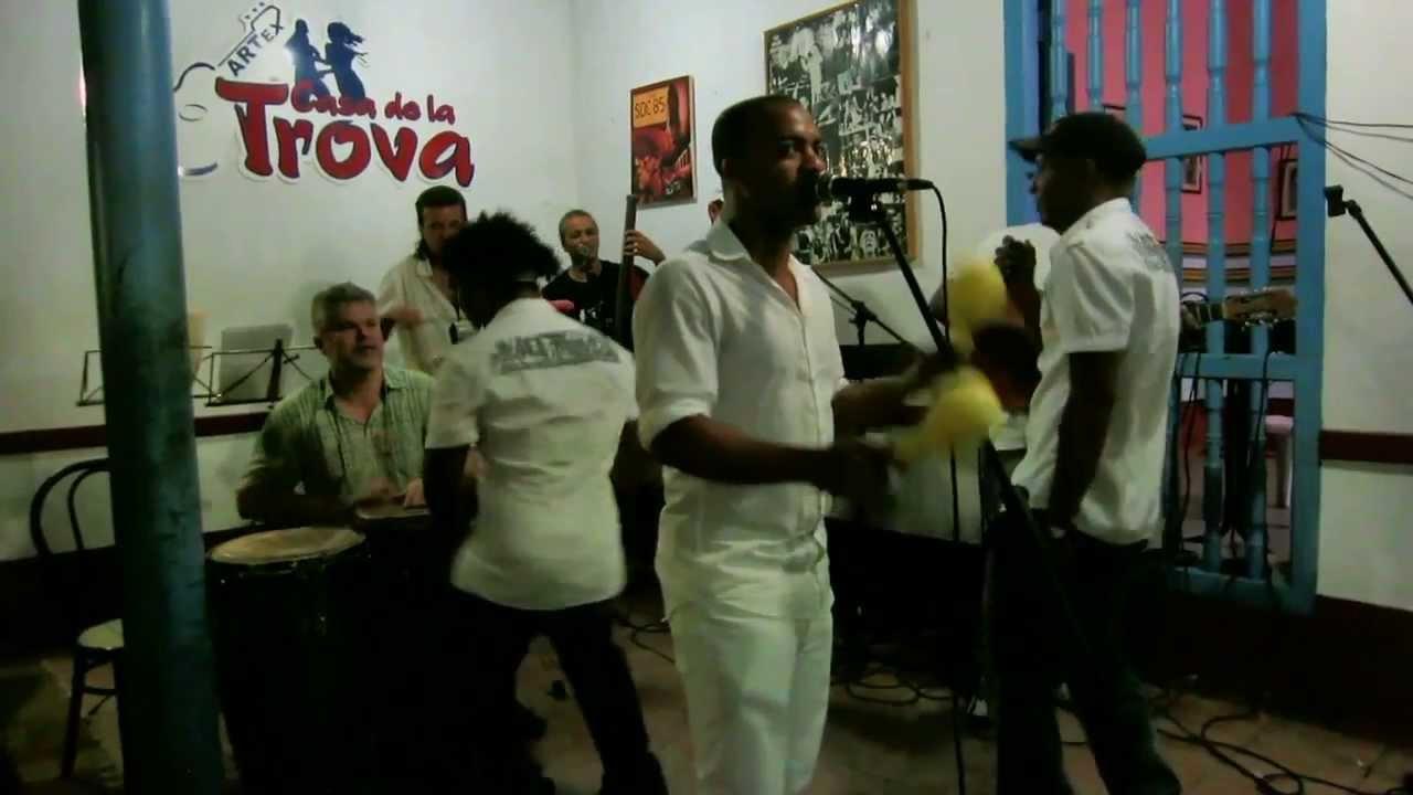 Cuba casa de la trova trinidad grupo baragu youtube for Trova la casa perfetta