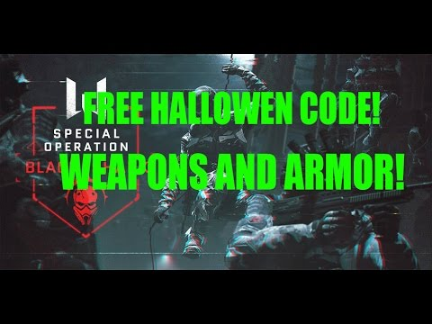 Warface Europe - Free Halloween CODE! WEAPONS AND MORE!