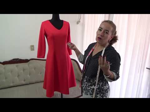Trazo y Corte de Vestido Corte Frances thumbnail