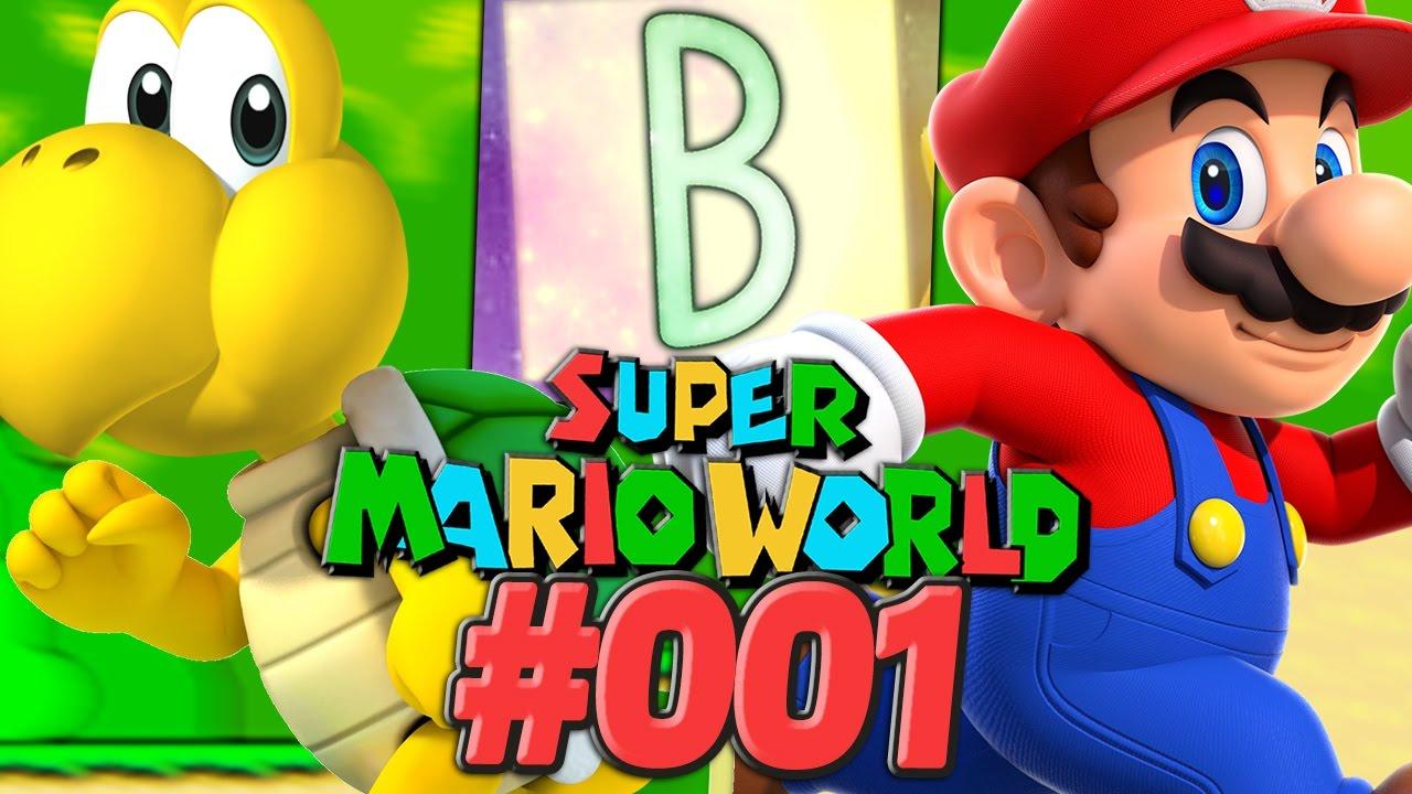 Super Mario World [Deutsch/60FPS] #001 Eure Themen! Welt 1