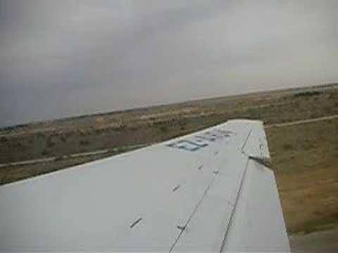 take off from Ashkabad