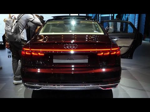 2018 Audi A8 Reveal