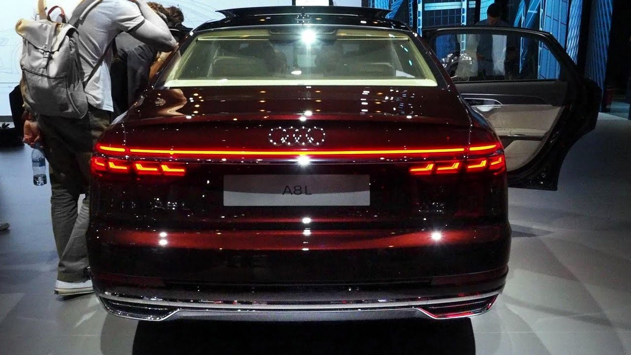 2018 Audi A8 Reveal Youtube