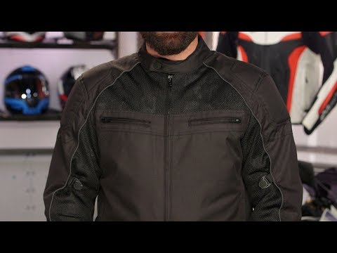 First Manufacturing Textile Jackets Review at RevZilla.com
