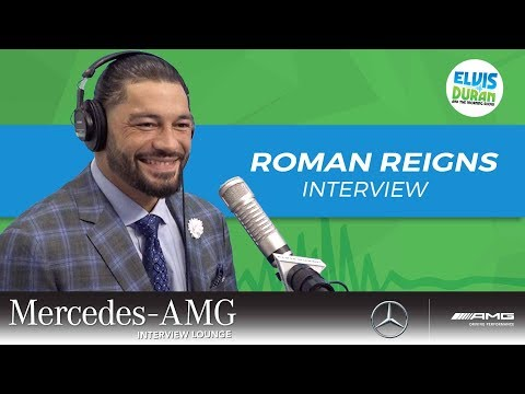Roman Reigns on His Battle with Leukemia | Elvis Duran Show